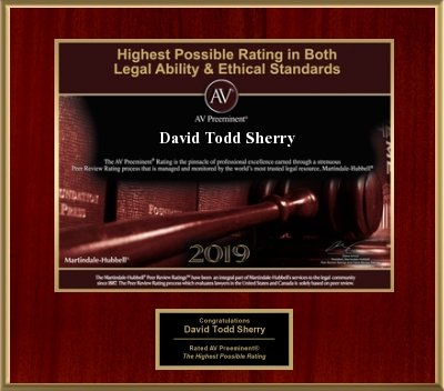 Highest Rating in Legal Ability and Ethical Standards